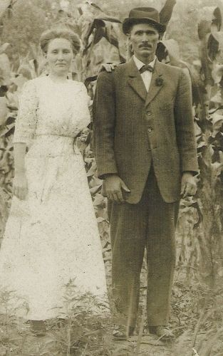 Lillie (Fulmer) and Isaac C. Justice