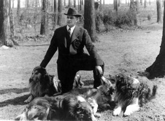 Albert Terhune & his collies