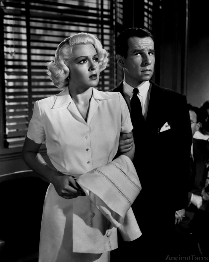 Hume Cronyn and Lana Turner