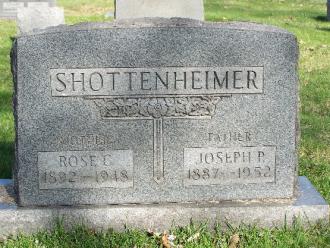 Rose C and Joseph P. Schottenheimer Gravesite