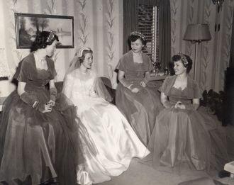 Betty Lou Beran & Bridesmaids, NE