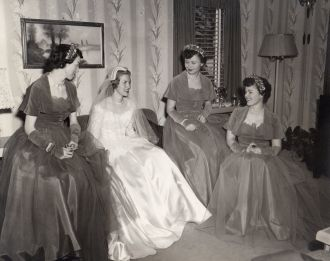 Betty Lou Beran & Bridesmaids, NE