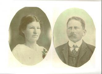 Amanuel & Minnie (Maddox) Hager