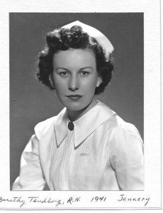 Dorothy Ruth Tandberg Manning, 1941
