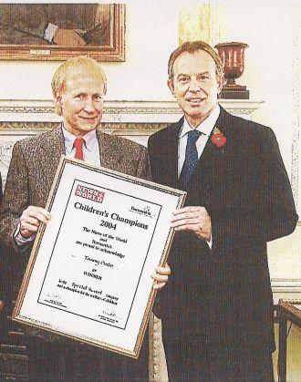 Prime Minister Tony Blair & Tommy Ontko