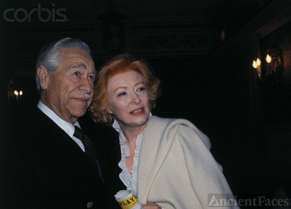 Buddy Fogelson and wife, Greer Garson