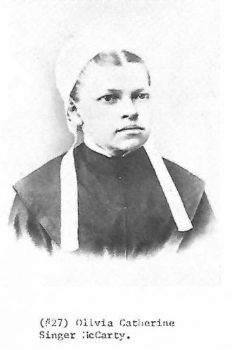 Olivia Catherine Singer McCarty