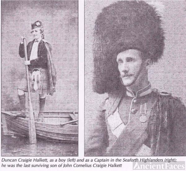 Duncan Craigie-Halkett (1857-1889)
