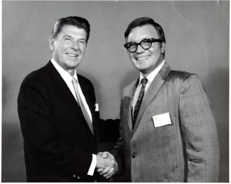 Thomas Dycus Jr. & Ronald Reagan