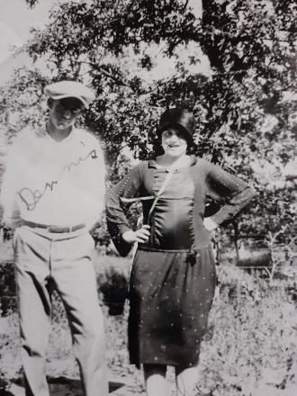 "My gg grandparents  James ""Dennis"" Sandlin and wife Ada of Oklahoma"
