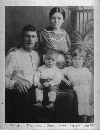 Early Frank Jackson Family