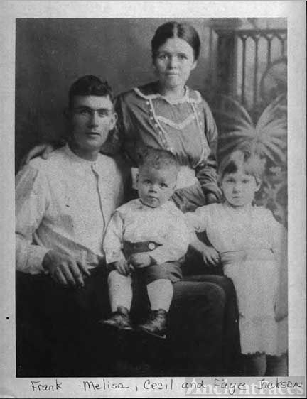 Early Frank Jackson Family