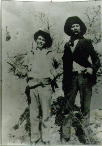 Albert and Horace Greely Blalock