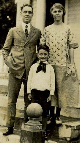 Mr. Homer Dawson, wife and son