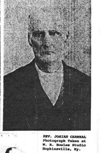 Rev. Josiah Carneal
