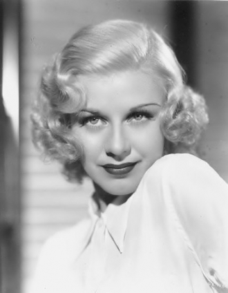 A photo of Ginger Rogers