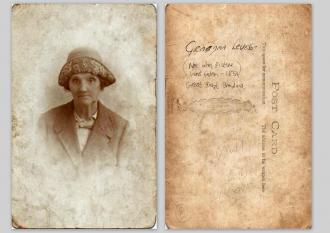 Gertrude (Livingstone) Leveson (wih Back)