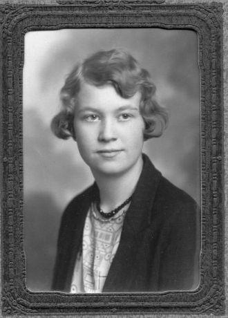 Madelyn Frances Kerr, 15 at graduation