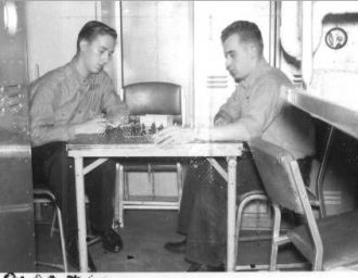 Off Watch, Chess Game