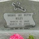 Doshie Lee (Hutto) Riley gravesite
