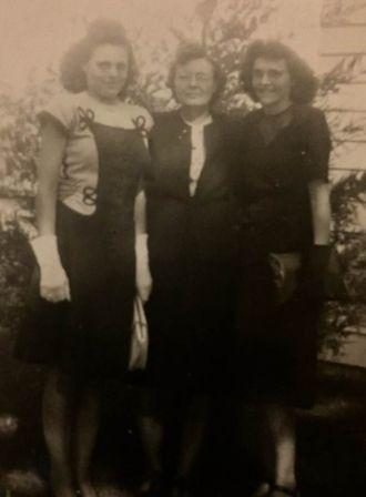 Juanita, Elsie and Hazel Moore