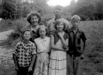 Troy & Velma Allmon's children - 1956