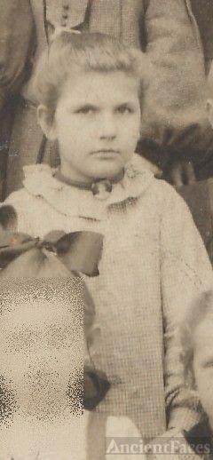 Alice Harkless, school girl