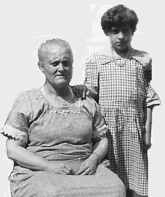 Rosina (Poletta) Gabriele and Teresina Gabriele