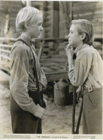 Donn Gift as Fodderwing in The Yearling (1946)