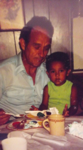 Grandpa and JJ