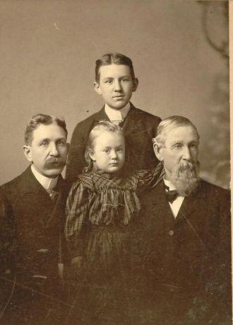 William Condent Kerr family