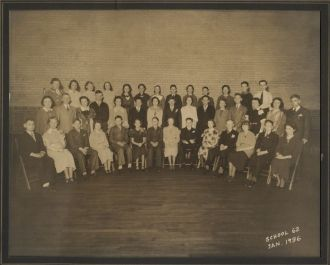 A photo of 2nd Row Mildred  Scholer