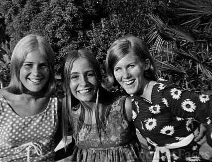 Pam Kroetch, Karen Stokke, Kathy Kroetch, Saratoga, California