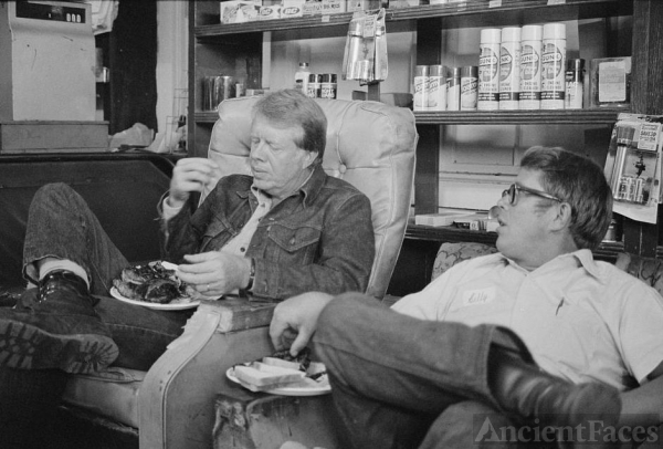 Jimmy and Billy Carter, 1976 Georgia