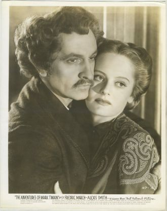 Alexis Smith and Frederic March