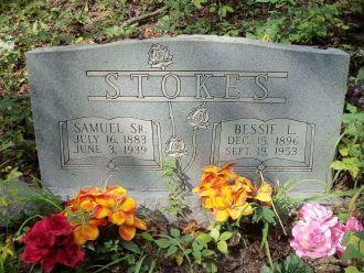 Samuel & Bessie (Hatfield) Stokes Grave, West Virginia