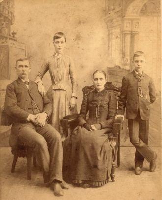 Rutledge or Nebergall family, Fulton County Illinois