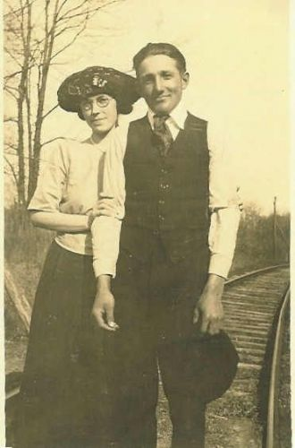 Beulah White With Roy E. Neal Before They Married