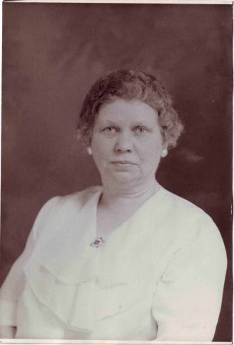 Martha May Samspon (nee Raymond)