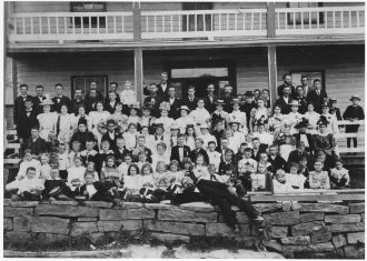 Deeds Family Reunion, WV 1890