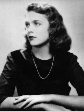A photo of Barbara (Pierce) Bush
