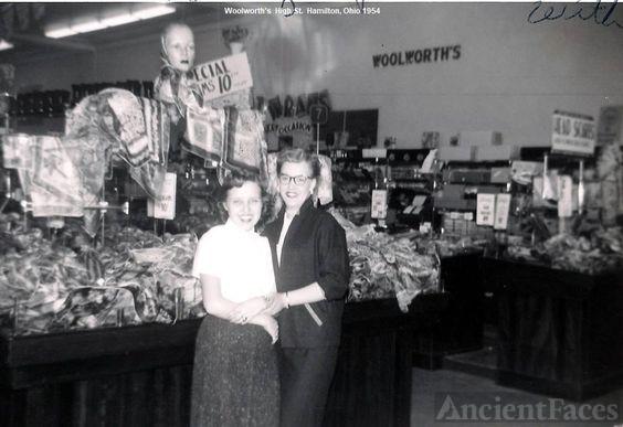 Woolworth Store, Hamilton, Ohio, 1954