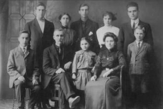 Binkley family, 1914