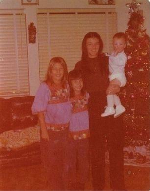 Brenda Jones Frady with Daughters