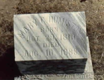 Mary Elizabeth Church Gravesite