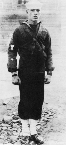 In the Navy in WWI.
