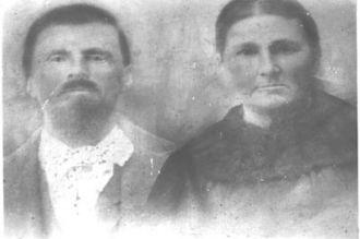 Alexander Perry Rudder and Frances Jane Tyler Rudder