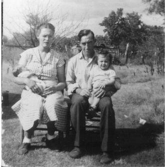 Leonard Thomas Fry Family, Oklahoma