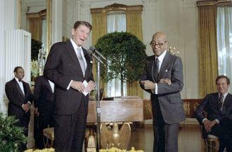 Eubie Blake and Ronald Reagan