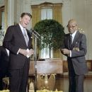 Eubie Blake and Ronald Reagan